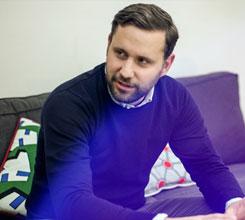 Marc Beaugé, rédacteur en chef de Society