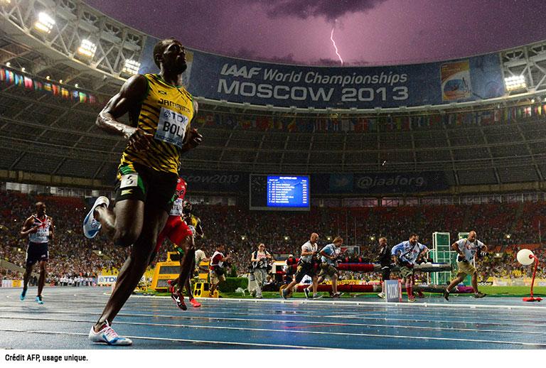 Usain Bolt AFP