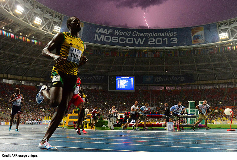 Usain Bolt AFP