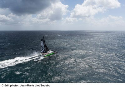 photo du bateau : photo Jean-Marie Liot/Sodebo