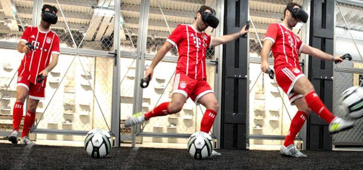 Une expérience football immersive sur les Champs Elysées