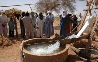 Des olympiades pour les puits du désert