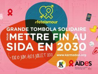 Avec #fetelamour, l'association AIDES lance une campagne de collecte pour financer un centre de santé sexuelle et atteindre un objectif : 2030 sans sida !