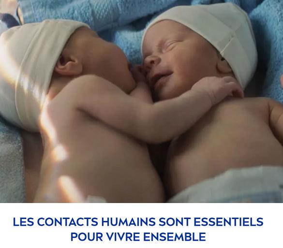 NIVEA: une campagne forte sur le contact humain