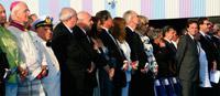 Inauguration du Costa Serena avec Marion Cotillard