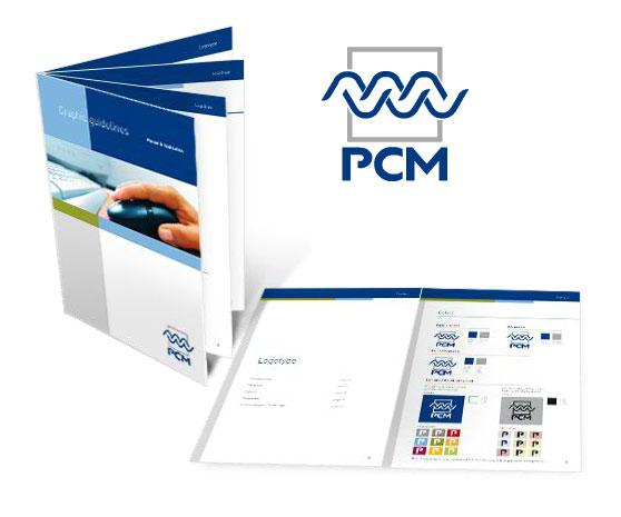 Identité d'entreprise pour PCM