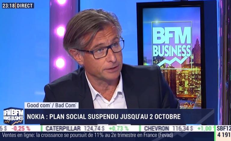 Thierry Wellhoff sur BFM TV