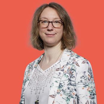 Aline Van Hoecke, directrice éditoriale