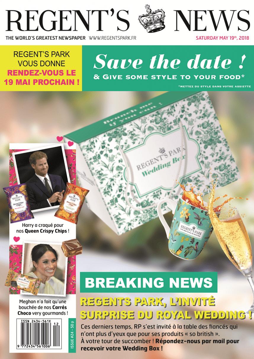 Save the date - Portage Wedding Box